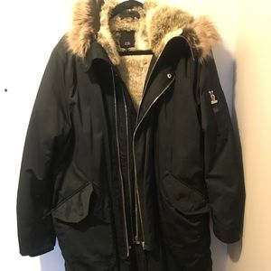 River island winter jacket (long)